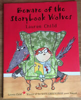 Beware of the Storybook Wolves by Lauren Child Paperback Book Childrens 2001 NEW
