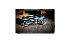 1983 gsx750 es Bike Motorcycle A4 Retro Metal Sign Aluminium