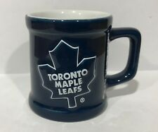Toronto Maple Leafs Shot Glass Hockey NHL Canada Blue Ceramic Canadian