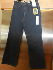 """Levi's 512  """"perfectly slimming"""" Jeans Bootcut Figure enhancer Size 10 Short NEW"""