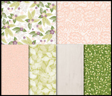 Stampin' Up FLORAL ROMANCE SPECIALTY Designer Series Paper -12 sheets 6x6in DSP