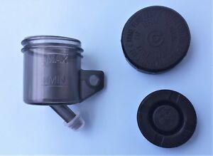 DUCATI SMOKED  CLUTCH/ REAR BRAKE  SMALL RESERVOIR /CAP/DIAPHRAGM 45 DEG OUTLET