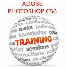 Adobe Photoshop CS6-Video formazione tutorial DVD