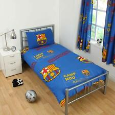 Barcelona FC 'Patch' Single Duvet Cover and Pillowcase Set Official Merchandise
