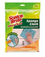 3M SCOTCH BRITE SPONGE CLOTHS ALL MULTI PURPOSE CLEAN ABSORB WATER & QUICK DRY