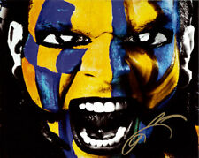 "Official Highspots - Jeff Hardy ""Yellow Facepaint"" Hand Signed 8x10 *Inc COA*"