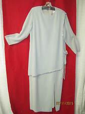 1970's/80's Couture Dress The Gray Rose green tunic Swarovski Rhinestones sz 14