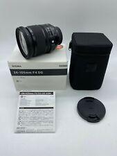 Sigma 24-105mm f/4 HSM DG OS Lens For Nikon