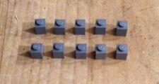 LEGO grigio scuro Bluastro 1x1 Brick (3005) x25 in un set * * Nuovo di Zecca CITY STAR WARS