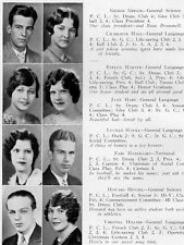 1930 Chicago Parker High School Yearbook~Photos~History~Football~Candids~Ads~++