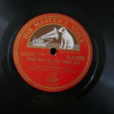 78rpm RICHARD CROOKS jeanie with the light brown hair / beautiful dreamer
