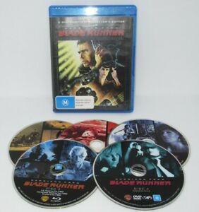 Blade Runner 5 Disc Complete Collector's Edition Blu-Ray Region B Rated M