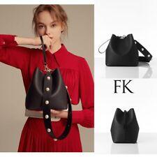 Find Kapoor Women's Pingo Bag Set Leather Hand Shoulder Clutch Strap Black Pearl