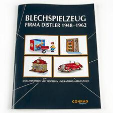 Broschüre Katalog-Abbildungen Fa. Distler 1948-1962 Blechspielzeug Zugsets Autos