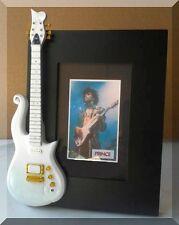 PRINCE  Miniature Guitar Frame White Cloud