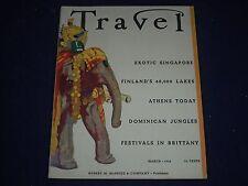1936 MARCH TRAVEL MAGAZINE - ROYAL ELEPHANT OF INDIA COVER - PHOTOS - J 1388