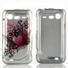Grunge Heart Hard Case Cover for HTC Droid Incredible 2