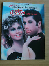 SONGBOOK  -  GREASE  -  Is Still the Word  -  20th Anniverary