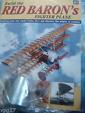 BUILD THE RED BARON'S FIGHTER PLANE FOKKER DR1  HACHETTE  ISSUE 83  NEW SEALED