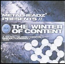 Metalheadz Presents: The Winter of Content - Various Artists  ** BRAND NEW CD **