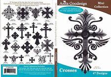 Anita Goodesign Crosses Embroidery Machine Design Cd New 70Maghd