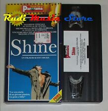 film VHS  SHINE J. Gielgud N. Taylor   CARTONATA PANORAMA (FP1*)  no dvd
