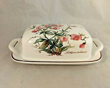 Villeroy & Boch Botanica Rectangular Covered Butter Dish with Lid
