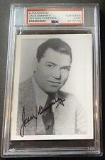 Jack Dempsey (Died 1983) HOF PSA/DNA Autographed Auto Photo Boxing Champion