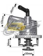 DAYCO Thermostat(HousingTypeIncSeal)Barina 2/01-12/05 1.4L MPFI XC Z14XE