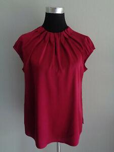 COMMA Bluse Blusenshirt in 38 auch für Gr. 40 weinrot