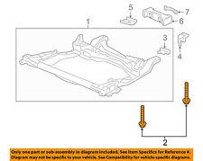 HONDA OEM Front Suspension-Engine Cradle Bolt 90175S5A000