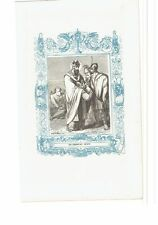 1852 Grabado, San Deogracias Obispo