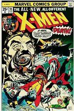 Uncanny X-Men #94 Facsimile Reprint Cover Only w/Original Ads Key 1st New Team
