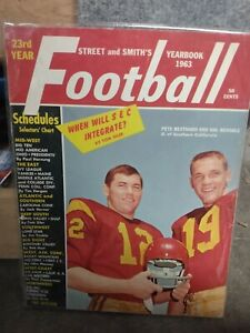 1963 *rare* Street and Smith's Football Yearbook