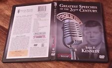 NM Greatest Speeches of the 20th Century - John F. Kennedy DVD Voices in Time