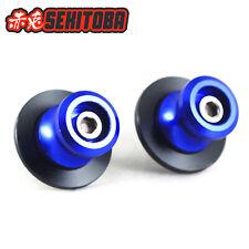 Sekitoba CNC Swingarm Spools Sliders Paddock Stand Bobbins 8mm Blue