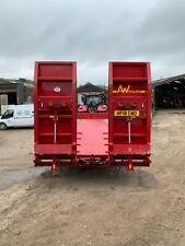 low loader trailer / plant trailer