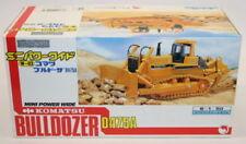 Machines de construction miniatures bulldozers 1:50