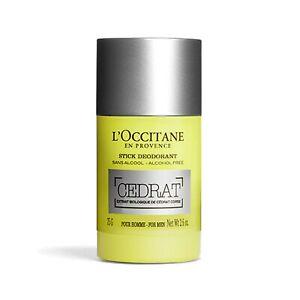 L'Occitane Cedrat Stick Deodorant 75g (2.64oz) Tracking Number Provided