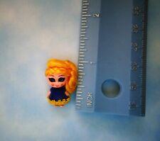 Vintage 1967 mini jewelry Liddle Kiddle doll w/yellow hair blue dress