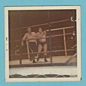 Bruno Sammartino vs Waldo Von Erich 1972 Fan Taken Wrestling Photo, Cleveland,OH