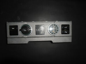 2003 Range Rover dash clock assembly