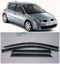 For Renault Megane Hb 2002-2008 Side Window Visors Rain Guard Vent Deflectors