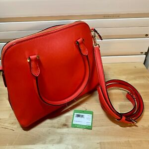 Kate Spade Cameron Street Maise Leather Crossbody Purse, Prickly Pear - $325