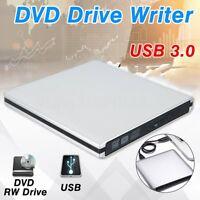 9.5mm USB 3.0 Blu-Ray Esterno Masterizzatore DVD Drive Reader Burner Per Laptop