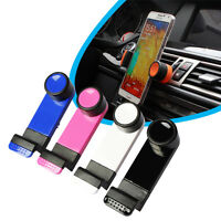 Universal Mobile Phone Holder Car Air Vent Mount Bracket for Samsung iPhone