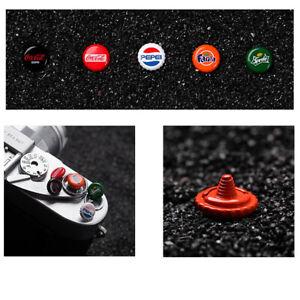 Concave Shutter Release Button Rubber Ring for Fujifilm Leica Nikon Sony