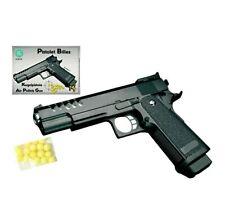 Erbsenpistole für Kinder Fasching Elite Edition mit Munition KUGEL PISTOLE
