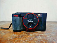 Vivitar TW35 Camera Built-in 35mm Wide Angle & 80mm Telephoto Auto Focus & Flash