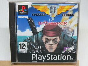 CT Special Forces 3 Sony PS1 PlayStation 1 PAL UK English * Disc Mint Condition